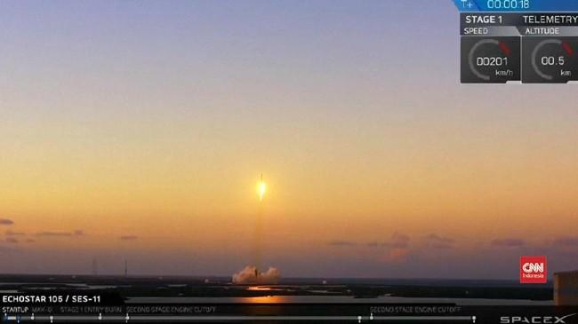 VIDEO: SpaceX Kembali Luncurkan Roket Falcon 9