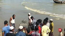VIDEO: Kisah Rohingya yang Keluarganya Tewas saat Kapal Karam