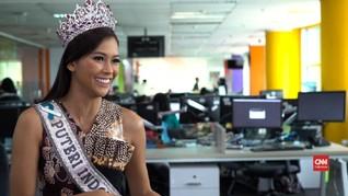 VIDEO: 'Senjata Pamungkas' Bunga Jelitha Menuju Miss Universe