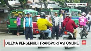 VIDEO: Dilema Pelarangan Transportasi Online di Bandung