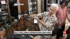 VIDEO: Keluarga Jokowi Pesan Pakaian untuk Nikahan Kahiyang