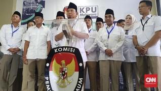 Daftar Pemilu 2019, Prabowo Ingatkan Makna Demokrasi