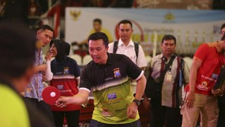 Menpora Buka Kejuaraan Tenis Meja Kapolda Jatim Cup