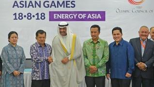 Host City Contract Asian Games 2018 Resmi Diubah