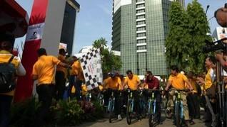 Fun Bike Meriahkan Launching Tour de Singkarak di Jakarta
