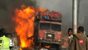 VIDEO: Kekacauan Usai Bom Tewaskan Puluhan Warga Somalia
