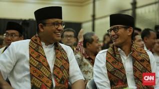 Setumpuk Janji Anies-Sandi untuk Warga Jakarta