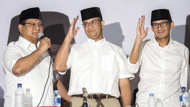FOTO: Perjalanan Anies-Sandi Jadi Gubernur Jakarta
