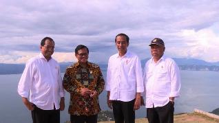 Jokowi Imbau Produk Wisata Danau Toba Juga Dibenahi