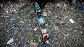 FOTO: Lautan Sampah Plastik Cemari Filipina