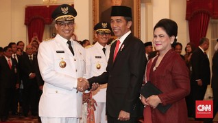 Jokowi dan Anies akan Rembukan Kelanjutan MRT di Istana