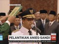 VIDEO: Anies-Sandi Ucapkan Sumpah Jabatan