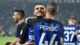 Babak I: Inter Milan Unggul di Derby Sekota Berkat Icardi
