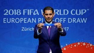 Hasil Drawing Play-off Piala Dunia 2018 Zona Eropa