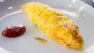 Cara Sederhana Buat Telur Gulung Lembut Sempurna