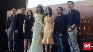 Miss Indonesia Achintya Nilsen Siap Hadapi Miss World 2017