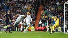 Madrid Ditahan Spurs 1-1 di Stadion Bernabeu
