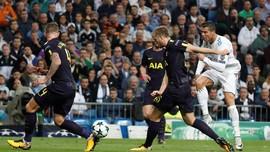 Babak I, Ronaldo Gagalkan Keunggulan Spurs atas Madrid