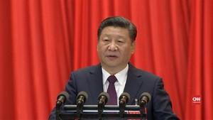 VIDEO: Kongres Partai, Xi Jinping Ingatkan Tantangan China
