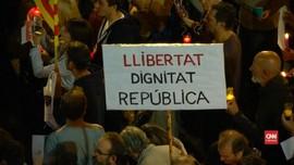 VIDEO: Catalonia Berkukuh Deklarasi Kemerdekaan