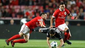 Babak I, ManUtd vs Benfica Imbang Tanpa Gol