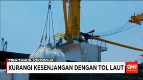 Perkembangan Program Tol Laut