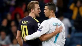 Kostum Ronaldo Akan Dibingkai Harry Kane