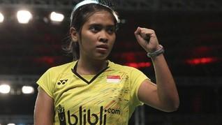Gregoria Mariska ke Final Kejuaraan Dunia Junior