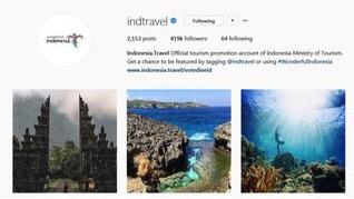 Kemenpar Gelar Foto Crossborder di Instagram