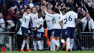 Tottenham Hotspur Tundukkan Liverpool 4-1