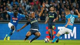 Ditahan Inter, Napoli Gagal Perpanjang Rekor Kemenangan