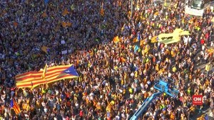 VIDEO: Puigdemont Kecam Pencabutan Otonomi Catalonia