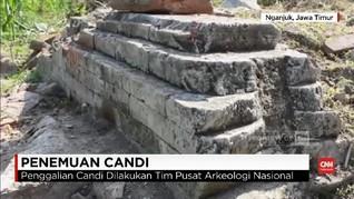 VIDEO: Candi Zaman Majapahit yang Ditemukan Mulai Diteliti