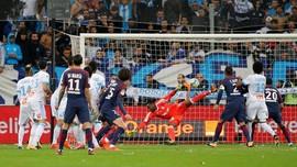 Neymar Dapat Kartu Merah Saat PSG Ditahan Imbang Marseille
