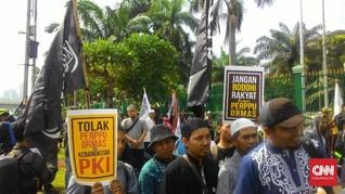 Temui Demonstran, Wakil PAN Apresiasi Demo Tolak Perppu Ormas