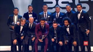 VIDEO: Cristiano Ronaldo Rebut Gelar The Best FIFA 2017