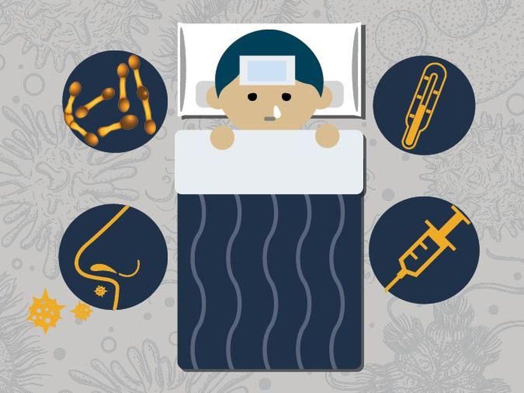 Imunisasi Difteri Serentak di 3 Provinsi, Ini Pesan IDAI