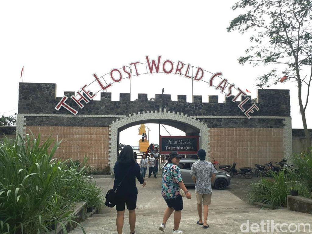Foto: Tempat Foto Hits di Lereng Gunung Merapi