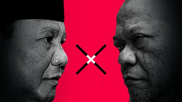 La Nyalla Vs Prabowo