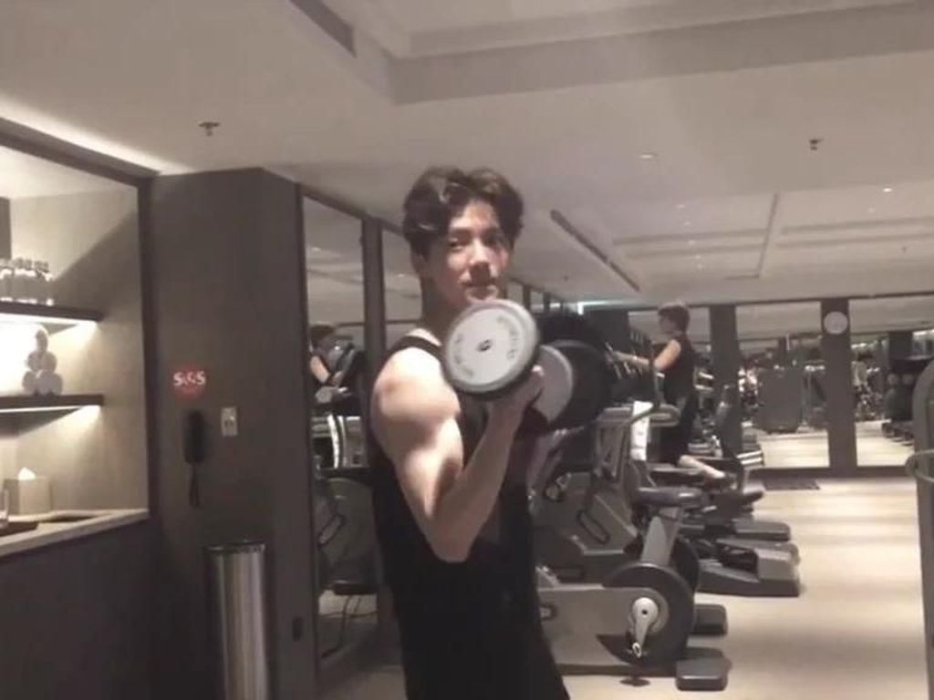 Foto: Ternyata Begini Olahraganya Si 'Pria Cantik', Luhan