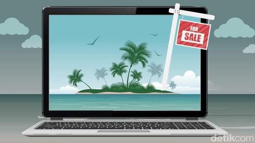 Heboh Pulau Indonesia Dijual Online