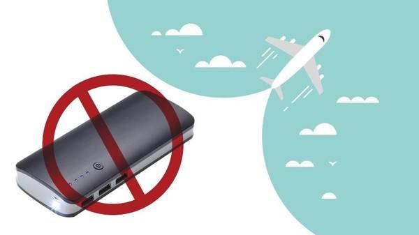 Pembatasan Powerbank di Pesawat