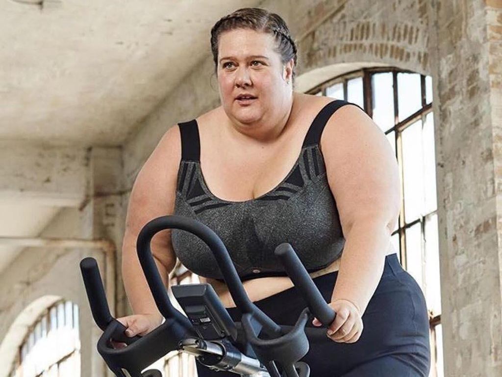 Krista Henderson, Si Atlet Plus-Size yang Buat Orang Anti Mager