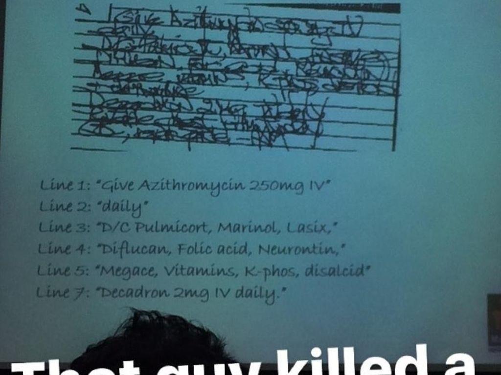 10 Meme 'Ancurnya' Tulisan Dokter yang Bisa Bikin Ketawa (2)