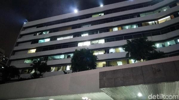 Gedung DPR Kebakaran