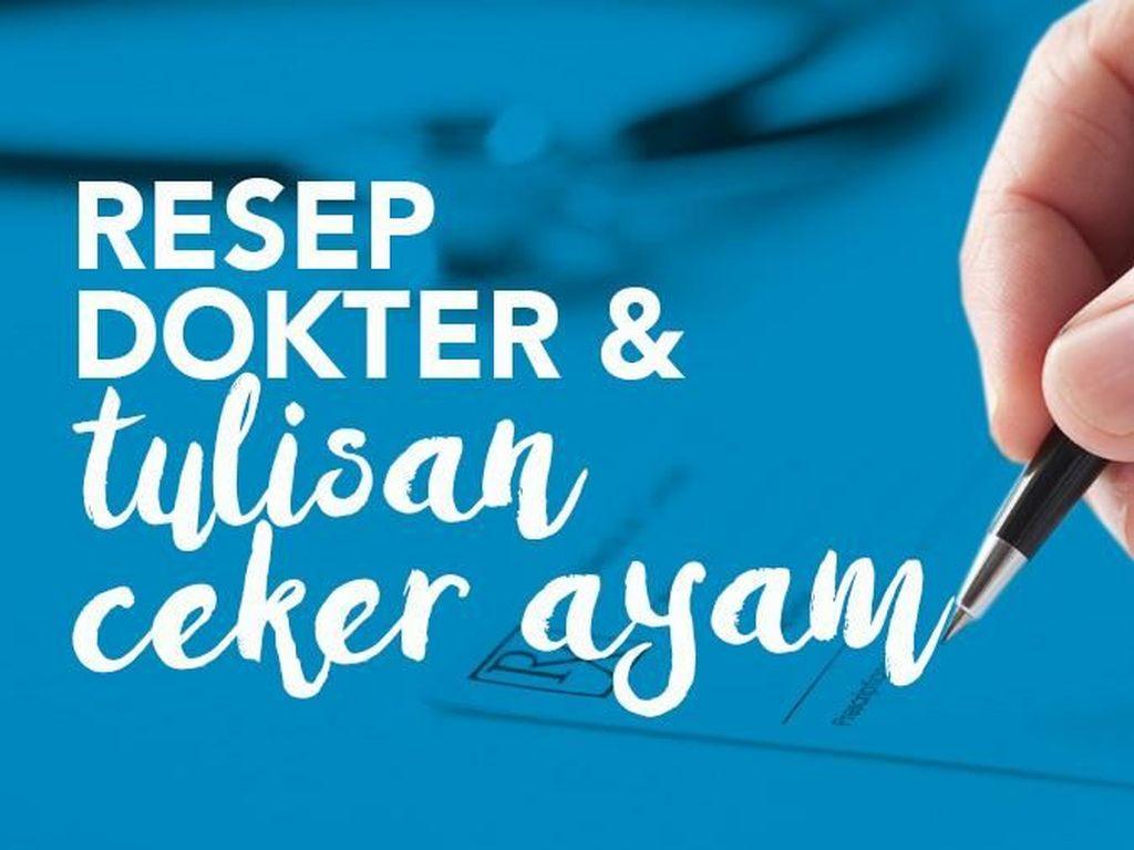 Kata Dokter Soal 'Trademark' Tulisan Cakar Ayam: Kalau Jelek Ya Jelek