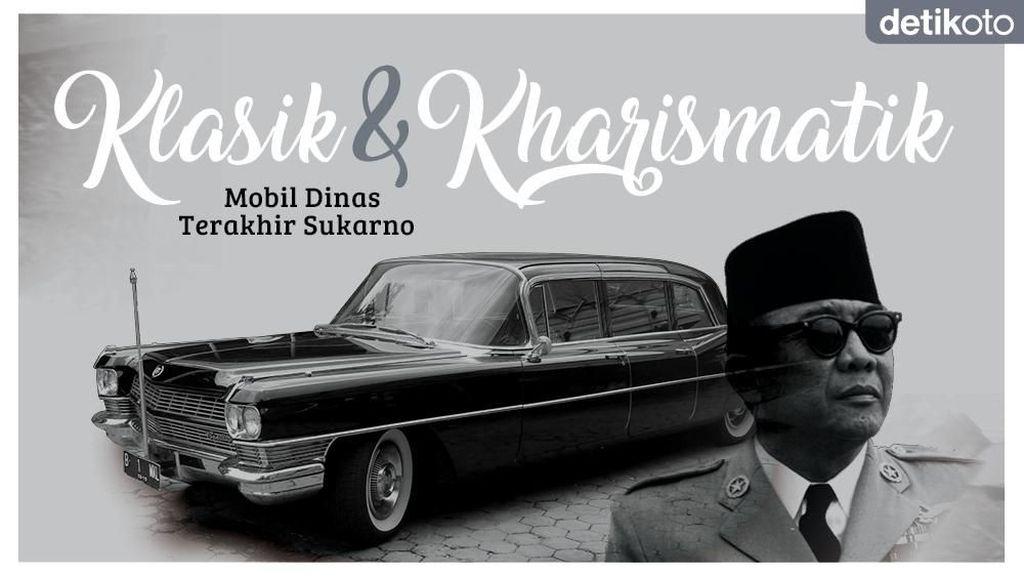 Mobil Kennedy untuk Sukarno