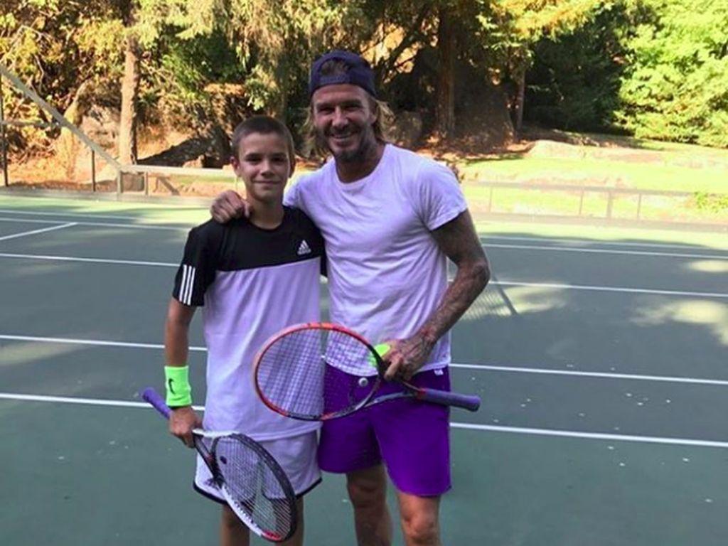 Sporty Banget! Gaya Romeo Beckham yang Doyan Olahraga