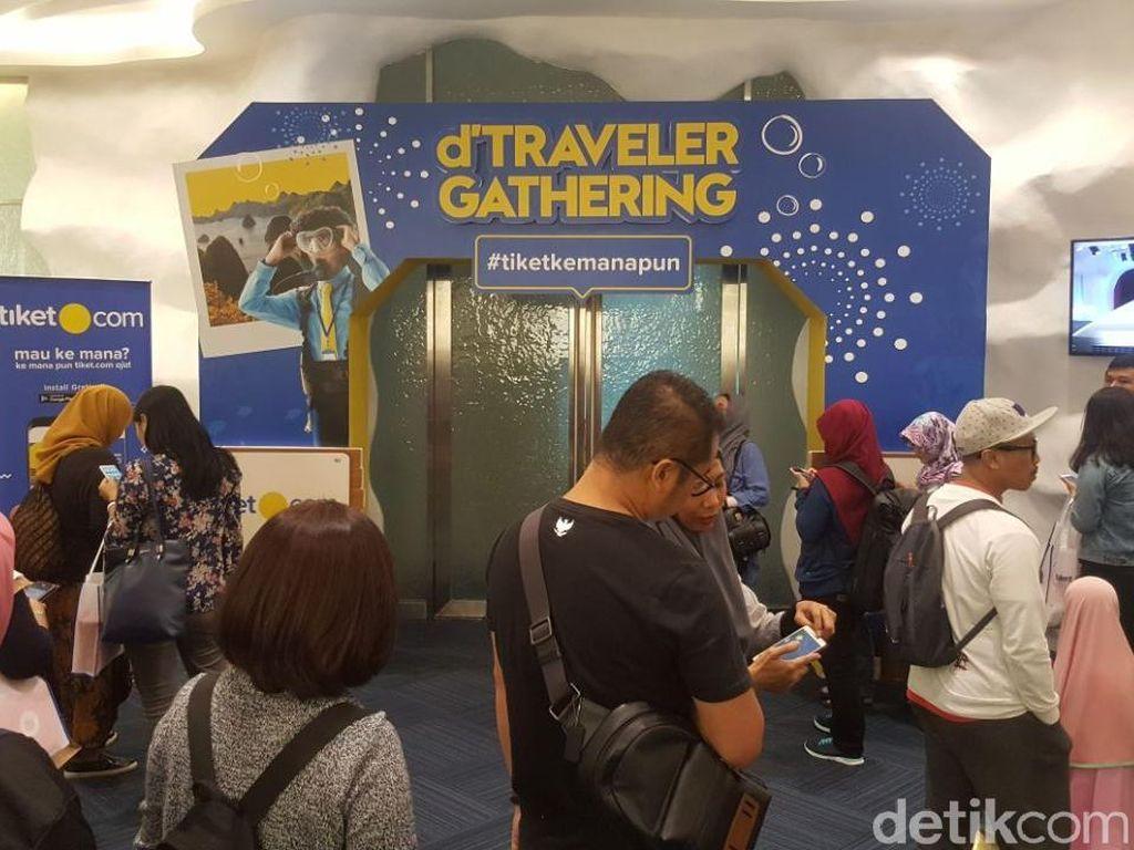 Padat! Acara d'Traveler Gathering