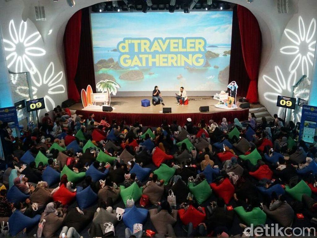 d'Traveler Gathering, Acara yang Seru Banget!